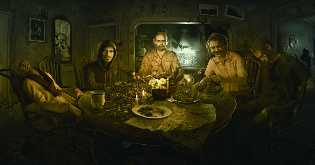 Resident Evil 7 Biohazard review family